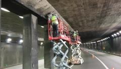 대구 두리봉터널, 조명등 교체공사로 차선 일부 통제