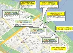 여의도한강공원 9개 버스정류소 주말 폐쇄...영등포구, '봄꽃 거리두기'