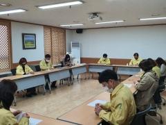 광주동부교육지원청, 직원들 점심시간 이용 면 마스크 만들기 참여