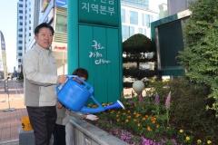 LX 광주전남지역본부, 화단 조성으로 화훼농가 돕기