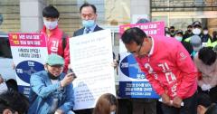 """'비하 발언' 김대호 """"제명 부당해…재심 청구해 선거 완주"""""""