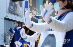 21대 총선 인천 미추홀을 남영희 더불어민주당 후보 선거유세