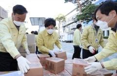 대구시교육청, 각급 학교에 마스크 130만장 등 방역물품 배부