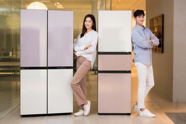 """""""더 새롭게"""" 삼성전자, 비스포크에 색상 10종 추가 도입"""