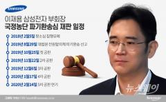 한달 미뤄진 이재용 부회장 공개 사과…재판 부담 커진 삼성
