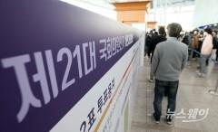 총선 사전투표 첫날 투표율 12.14%로 역대 최고…533만명 참여(종합)