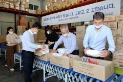 벤츠코리아,취약계층·의료진구호물품긴급지원