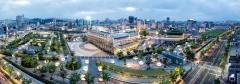 아시아문화전당, 야간에도 '빛'(光)으로 관광객 볼거리 제공