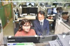 손병환 NH농협은행장, '고객행복센터' 찾아 코로나19 대응현황 점검