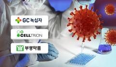 코로나19 치료제 연내출시 경쟁…녹십자vs셀트리온vs부광약품