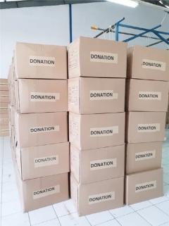 중부발전, 인니 재난방지청에 방호복 1만벌 기부...현지 의료진에 보급