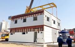 SK건설, 모듈러 공법 활용한 현장사무실 설치