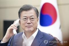 """문 대통령 """"남아공, 6.25 참전한 혈맹…마스크 지원 검토"""""""