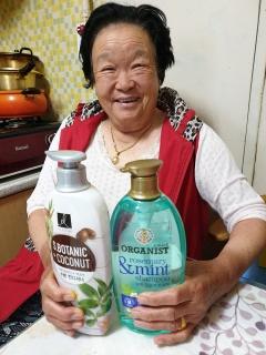 광양시, 독거노인 450명에 긴급생활용품 전달