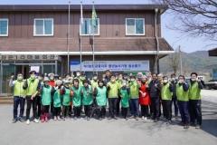 김광수 농협금융 회장, 홍천군 왕대추마을서 일손돕기 활동