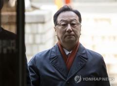 """'인보사 의혹' 코오롱 이우석, """"안전성 문제없다""""···혐의 부인"""
