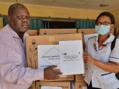 말라위 국립중앙병원에 코로나19 방호복 긴급지원 外