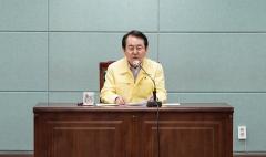 """김종식 목포시장 """"긴급재난지원금 전액 기부"""""""