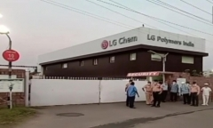 LG화학, 인도 사고에 현장 지원단 파견…신학철 부회장은 국내 총지휘