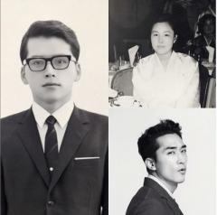 배우 송승헌 아버지 '훈훈한 외모' 화제