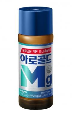 일동제약, 마그네슘드링크 '아로골드Mg' 리뉴얼 출시