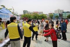 인천도시공사-인천시, 화훼농가 돕기 '희망의 꽃 나눔' 행사 가져