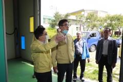 김철우 보성군수, 여름철 자연재난 대비 주요시설 현장 점검