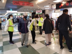 대구시 '코로나19 극복' 생활 속 거리두기 캠페인