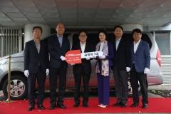 윤재연 인제스피디움 사장, 지역 복지시설 차량 기부