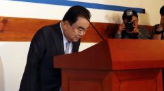 """정치권 떠나는 문희상 """"만감이 교차한다"""""""