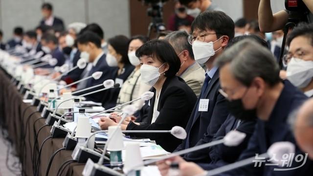[NW포토]'금융감독자문위원회 전체회의' 금감원장 발언에 귀 기울이는 참석자들