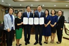 경산시-영남대, '건강증진대학 만들기' 협약