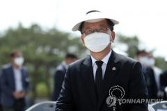 """김부겸 """"20년 전 낙선한 노 前대통령의 심정"""""""