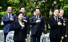 김영록 지사, '노무현 대통령 서거 11주기' 추모