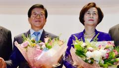 민주당, 국회의장에 박병석 추대…부의장에 김상희