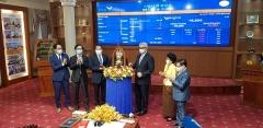 아클레다은행, 한국거래소 출자 캄보디아 증시 상장