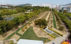 HUG, 부산 평화공원에 '세계 평화의 숲' 조성 완료