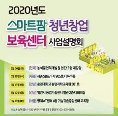 스마트팜 청년창업 보육센터 사업 현장설명회 개최 外