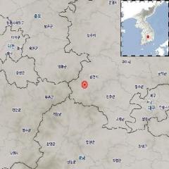"""기상청 """"경북 김천 남남서쪽서 규모 2.8 지진 발생"""""""