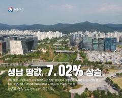市 땅값 7.02% 상승···제일 비싼 곳 1㎡당 2370만원 外
