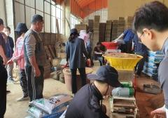 광주 서창농협 직원, 4일 연속 농번기 영농지원 봉사활동