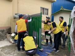 보성군 벌교읍, 어려운 이웃에 주거환경 개선 봉사활동 실시