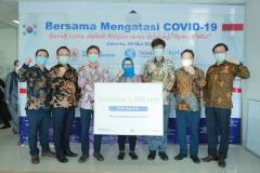 신한금융-씨젠-코트라, 인도네시아에 코로나19 진단키트 기부