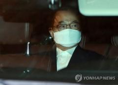 """오거돈 구속영장 기각…법원 """"증거인멸 우려 없어"""""""