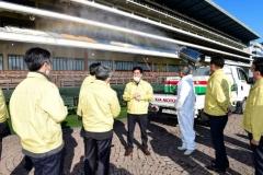 한국마사회, 3개 경마공원 지사·목장 등 전사업장 '방역 집중 점검'