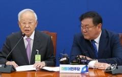 손경식 한국경영자총협회장 김태년 더불어민주당 원내대표 예방