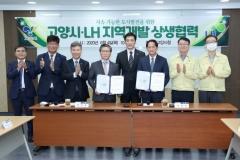 고양시-LH, 지역개발 상생 협력 방안 체결...창릉 3기 신도시 탄력 기대