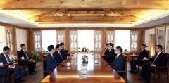 최태원 회장, 중국대사와 회동…'협력 방안 논의'