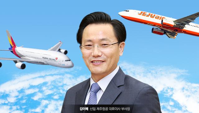 [이세정의 항공 쑥덕]김이배 대표 제주항공行에 얽힌 비하인드 스토리