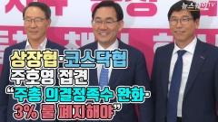 """상장협·코스닥협, 주호영 접견…""""주총 의결정족수 완화·3% 룰 폐지해야"""""""